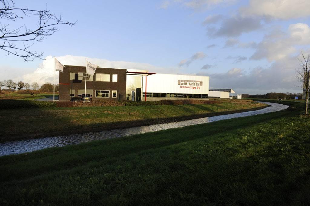 Horstra Technology Vooraanzicht huidig kantoor